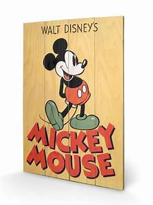Bild Auf Holz : bild auf holz micky maus mickey mouse micky bei europosters ~ Frokenaadalensverden.com Haus und Dekorationen