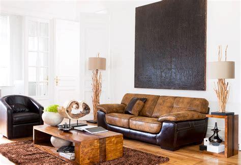 de fauteuil de bureau bois et chiffons fauteuil photo 5 20 joli canapé brun