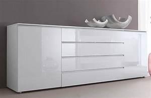 Meuble Blanc Laqué Ikea : buffets conforama top buffet rangement cuisine conforama ~ Premium-room.com Idées de Décoration