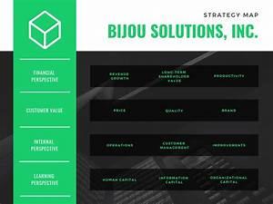 Membuat Grafik Peta Strategi Online