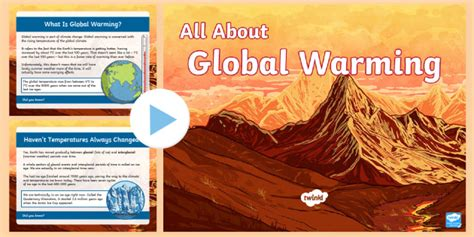 * New * Uks2 All About Global Warming Powerpoint  Current Affairs, Climate