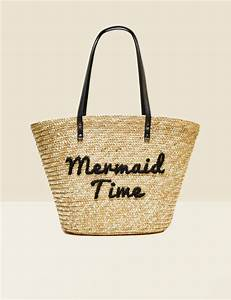 Sac En Paille Original : sac de plage en paille femme jennyfer ~ Melissatoandfro.com Idées de Décoration