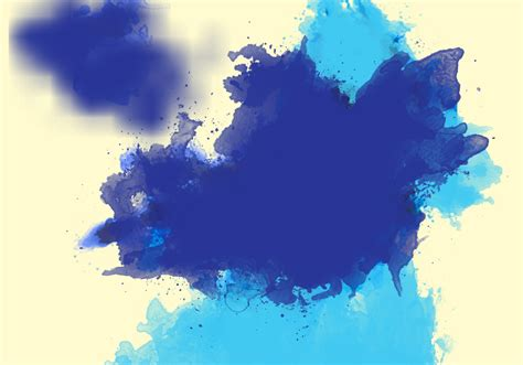 water color brushes 20 large watercolor splatter brushes free photoshop