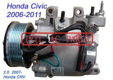 automobile air conditioning service 2007 honda element electronic valve timing kompressor trse07 trse09 for honda civic 2006 2011 honda crv 2 0 2007 oem 38810 rna 00