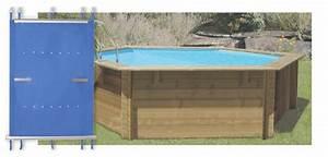 Bache A Barre Pour Piscine : couverture toutes saisons pour piscines hexagonales en bois piscine center net ~ Nature-et-papiers.com Idées de Décoration