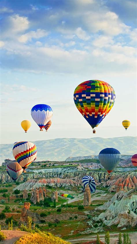 tap     app art creative sky air balloons