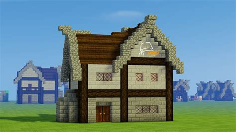 minecraft lets build french medieval house youtube