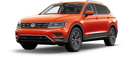 2018 Volkswagen Tiguan Suv Color Options