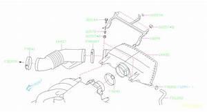 Subaru Tribeca Engine Air Intake Hose  Chamber Air Intake