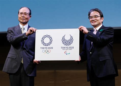 tokyo unveil logos olympic paralympic games