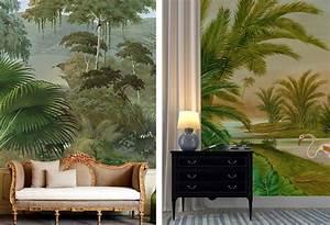 Papier Peint Ananbo : papier peint foret tropicale ~ Melissatoandfro.com Idées de Décoration