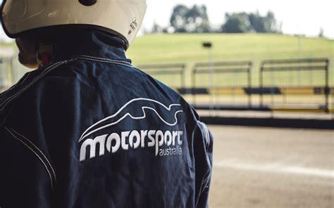 motorsport australia   raise funds  bushfire