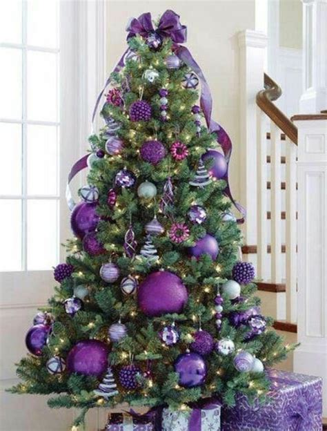 Weihnachtsbaum Lila Geschmückt 26 mod 232 les de petit sapin de no 235 l artificiel archzine fr