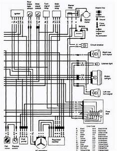 Electrical Wiring Diagram Of 1988 1991 Suzuki Vs750 Intruder For Us And Canada Part 2  61189