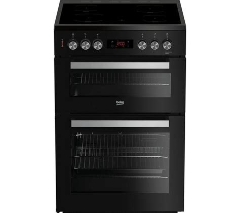 beko xdck cm electric ceramic cooker black