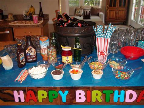 cool decorations for old cool birthday party ideas for 12 year olds root beer floats jpg siudy net