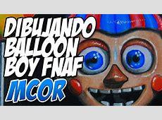 Dibujando a Balloon Boy Five Nights at Freddy's YouTube