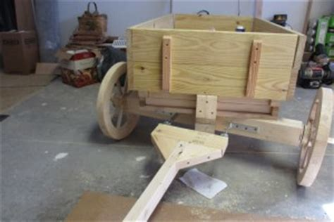 wooden wagon build  cook  tom
