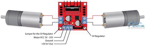 arduino dc motor tutorial l298n pwm h bridge