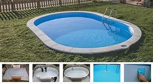 Piscine En Kit Enterrée : piscine enterr e en kit gr mod le sumatra taille au choix ~ Melissatoandfro.com Idées de Décoration