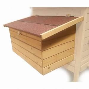 Nid Pour Poulailler : pondoir bois amovible avec 2 nids pour poulailler ~ Premium-room.com Idées de Décoration