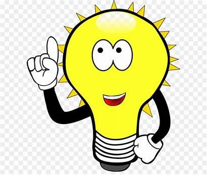 Clipart Bulb Cartoon Lightbulb Clip Animated Lamp