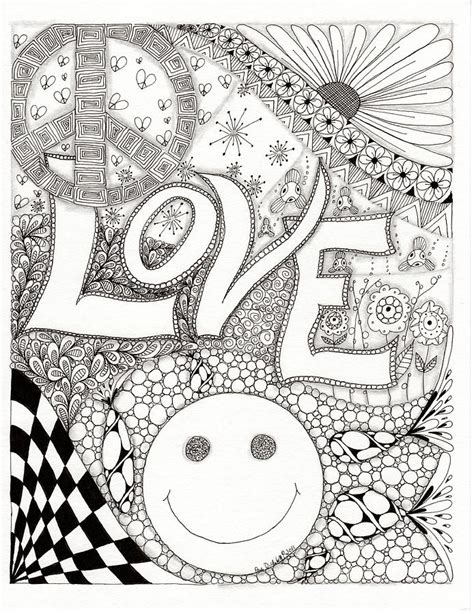 peace love  happiness  paula dickerhoff stencils