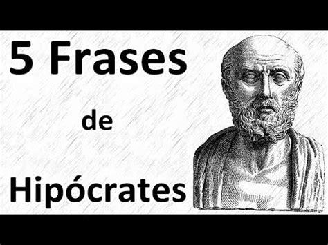 5 Frases de Hipócrates - YouTube