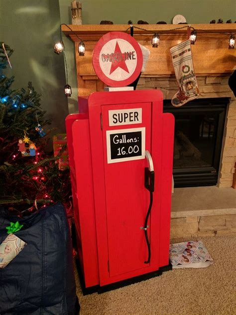 ana white gas pump bookshelf christmas present diy projects