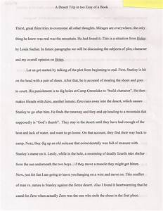 Essay About High School Holes Essay Plan Science Fiction Essays also Essay On The Yellow Wallpaper Holes Essay Esl Admission Essay Writer Websites Ca Holes Essay  What Is The Thesis Of A Research Essay