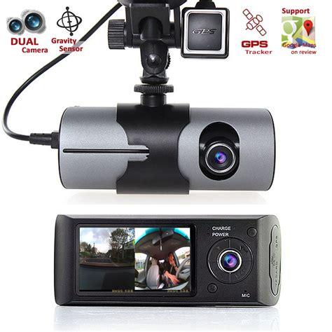 Hd Dashcam Dual Camera Front+incab Driving Recorder Car