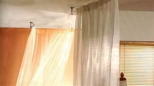 Gardinenstange An Decke Anbringen : gardinenstange flexible ~ Bigdaddyawards.com Haus und Dekorationen