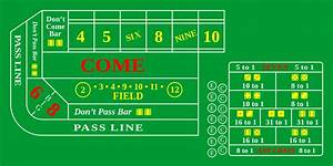 File Craps Table Layout Svg