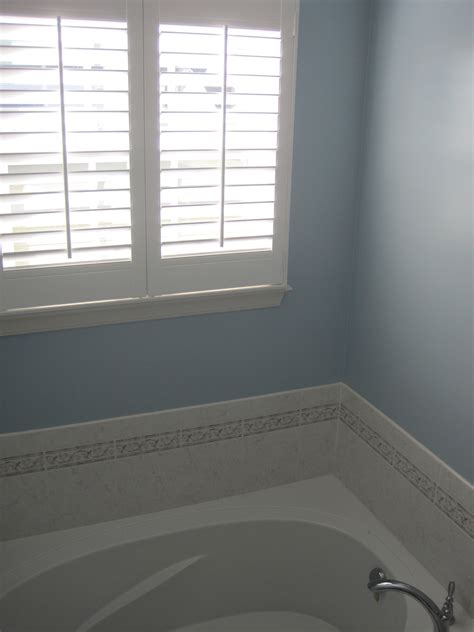 behr quot sonata quot blue bathroom for the home