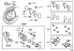 Scion Tc Pin  Cylinder Slide For Rear Disc Brake   Main
