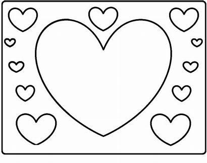 Hearts Coloring Valentines Pages Uploaded User