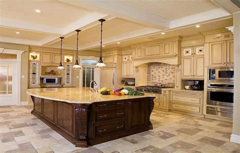 building a kitchen island with cabinets luxury design ideas for a large kitchen