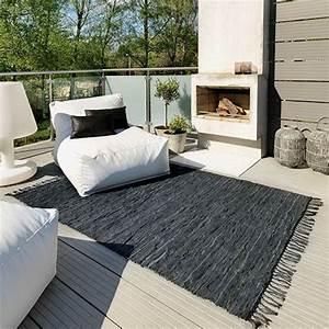 Cheminee Terrasse Canape Design Confortable Table Basse