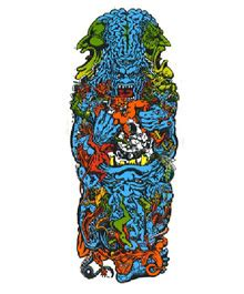 Rob Roskopp Skateboard Graphics by Santa Rob Roskopp V 65 00 Buy Vintage