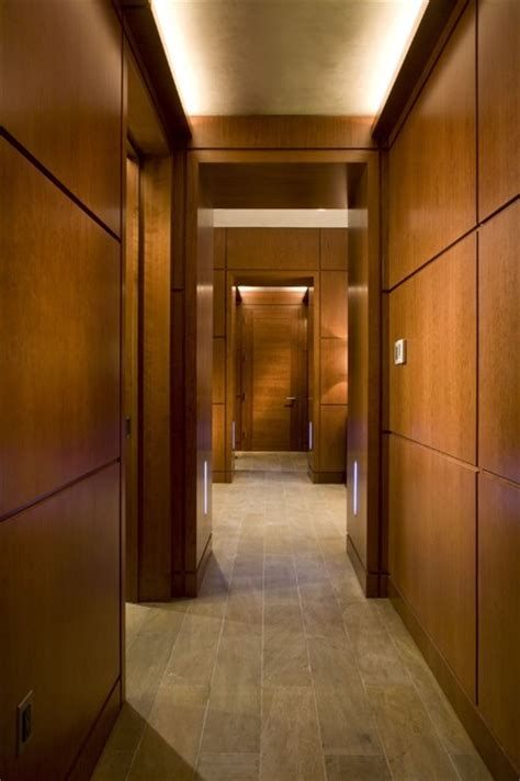 hallway  cove light  led steplights contemporary