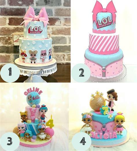 torta lol surprise cupcake cakepops sorpresa unicornio
