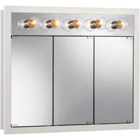 home depot medicine cabinets with lights granville 36 in w x 30 in h x 4 75 in d surface mount