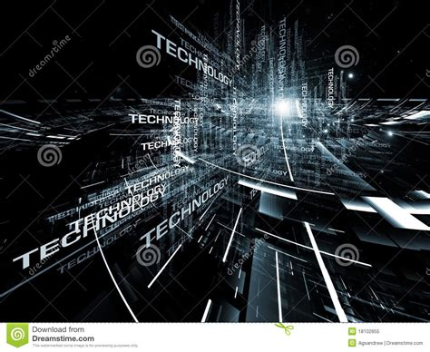 Modern Technology Abstract Stock Image Image Of Computer