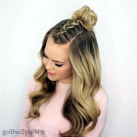 photo  cute hairstyles  thin long hair