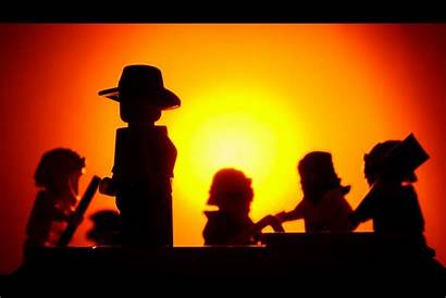 Indiana Jones Silhouette Effect Sunset Tricks