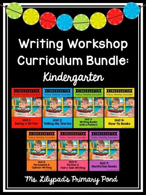 kindergarten common core writing curriculum learning   primary pond