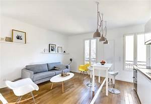 the tiny apartment in paris With decoration de petit appartement