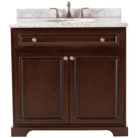 home decorators vanity home decorators collection highclere 36 in w x 22 in d 1655