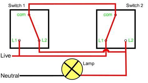 Two Way Light Switching Explained Youtube