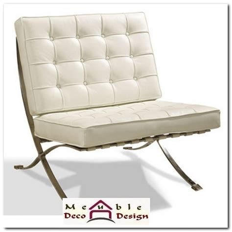 fauteuil design cuir blanc fauteuil cuir blanc design
